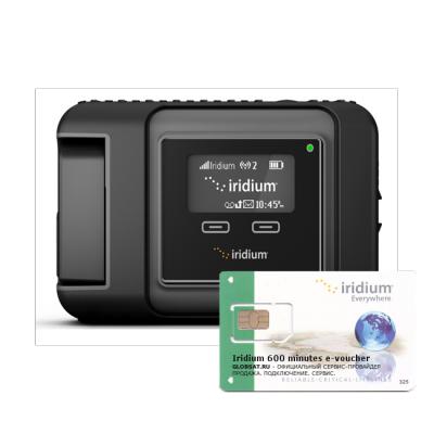 Купить Iridium GO! комплект GO!400 минут в GLOBSAT с бесплатной доставкой по России. Первый в индустрии персональный спутниковый WiFi хот-спот Iridium GO!, позволяющий подсоединиться любому смартфону или планшету и обеспечивающий передачу голоса и данных для персональных устройств в ситуациях, когда они находятся вне зоны покрытия сотовых сетей.  Iridium GO! создает мобильную зону WiFi через спутниковый интернет в любой точке земного шара, позволяет до пяти одновременно работающим мобильным устройствам совершать звонки, получать электронную почту, сообщения и использовать приложения, даже когда рядом нет наземных сетей, они ненадежные или дорогие.  Iridium GO! - этот первый в своем роде продукт позволяет пользователям вести бизнес, поддерживать связь с семьей или получать доступ к информации куда бы они не приехали – все это без использования спутникового телефона.